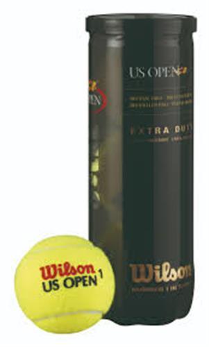 קופסת כדורי טניס Wilson US Open Extra Duty