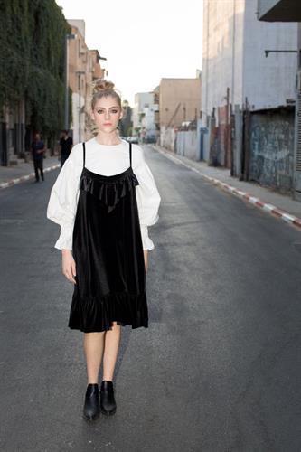 שמלת ויוי שחורה