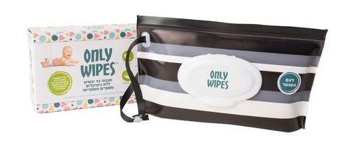 Only Wipes מגבוני בד יבשים (מגבונים להכנה עצמית) אונלי וייפס
