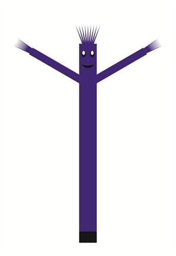 בובת דנסר רוקדת בגובה 6 מטר - צבע כחול