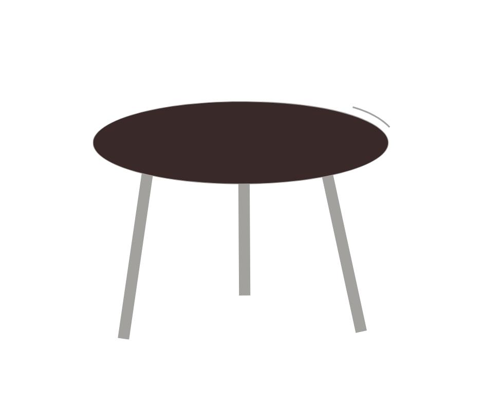 שולחן עגול לעד 10 אורחים