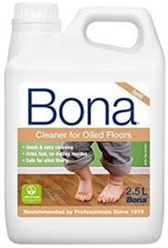 מנקה פרקט בונה בגימור שמן BONA Cleaner for oiled floors