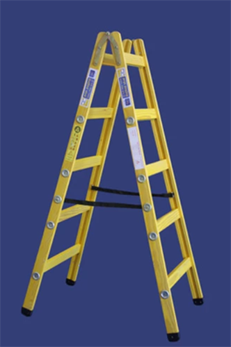 סולם עץ תקני - תו תקן 2X5 שלבים חגית