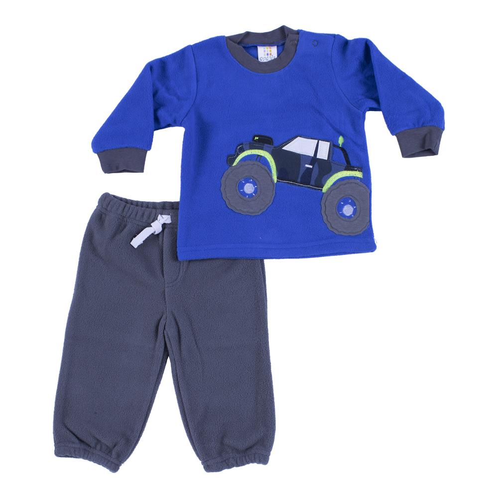 חליפת פליז כחול רויאל משאית