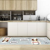 """שטיח פי וי סי למטבח """"אור בקצה המנהרה""""  שטיח למטבח  שטיח פי וי סי   שטיח PVC   שטיחי פי וי סי מעוצבים"""