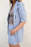 מכנסון מיקה כחול
