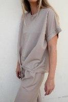 חולצת ריבה קרם