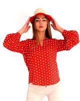 חולצה אולידיי אדום