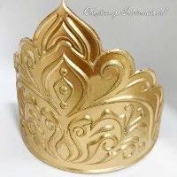 ALADIN CROWN Chocolate mold | Crown DIY Sugar Craft Fondant Chocolate Mold Decorating Tools