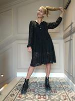 שמלת HOLLY תחרה + מסכת LACE BORDER מתנה