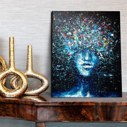 ציור CREATIVITY | אקריליק על קנבס