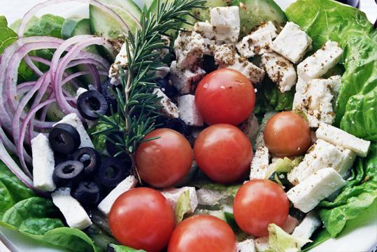 סלט יווני דיאט 5% - קטן/גדול