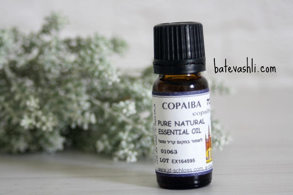 שמן אתרי קופאיבה COPAIBA