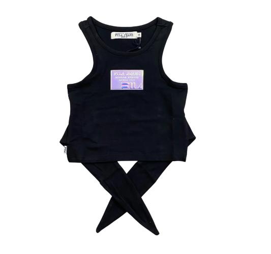 חולצת קשירה עם לוגו הולוגרמה FILA  - מידות 6 עד 16 שנים