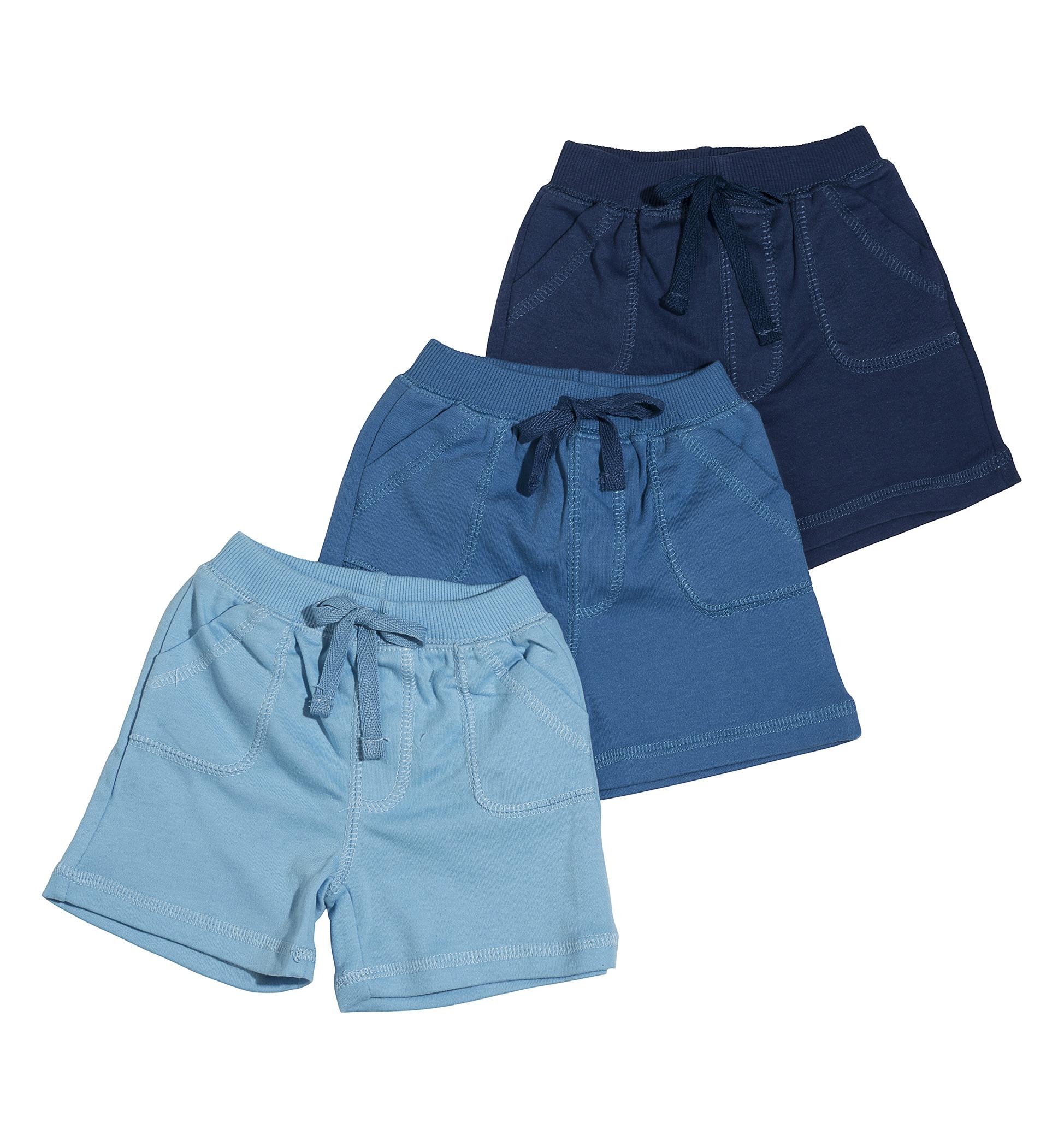 שלישיית מכנסיים 4457 נייבי - כחול - תכלת