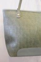תיק צד קלסי ירוק