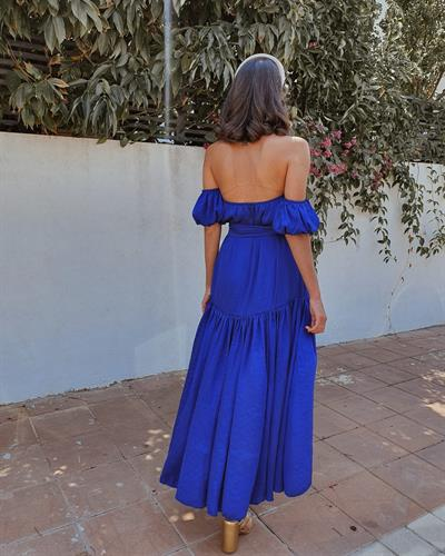 שמלת לוטם - כחולה