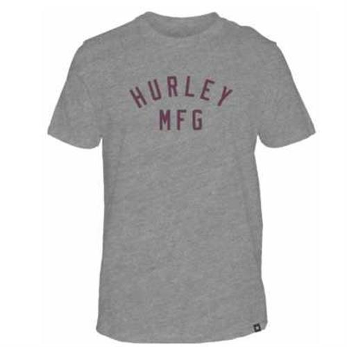 HURLEY SIRO ATHLETICO T-SHIRT- DARK GREY HTR