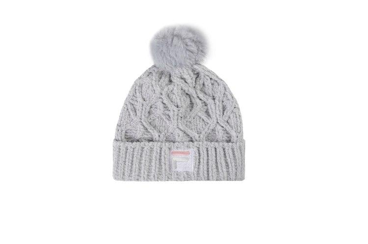עותק של כובע גרב אפור קטיפה FILA - בנות