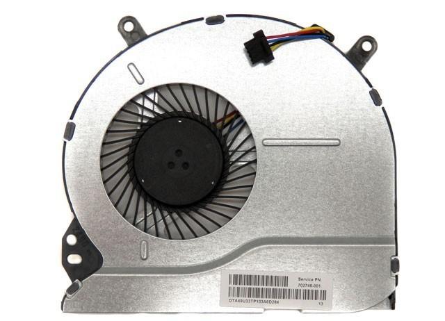 מאוורר למחשב נייד HP Pavilion Sleekbook 14 15 Series Laptop CPU Cooling Fan 702746-001