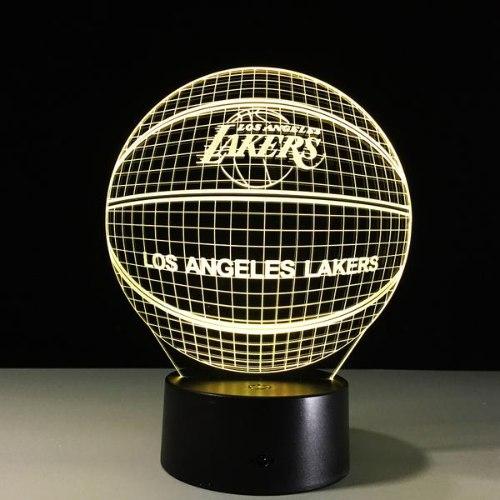 מנורת לילה לוס אנגלס לייקרס