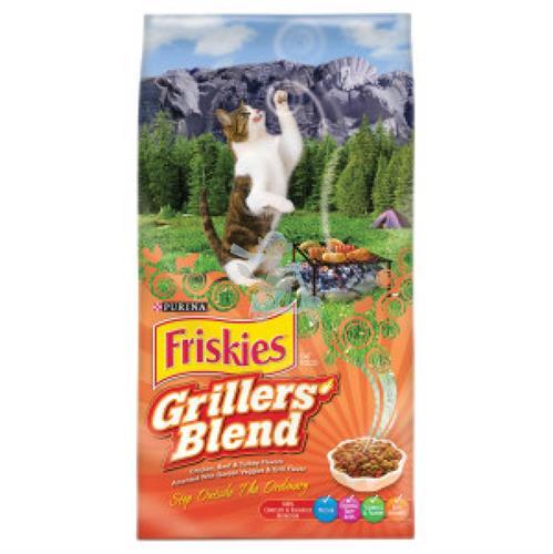 """פריסקיז לחתול 2.9 ק""""ג מעדני השף כתום"""