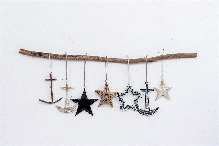 ענף מיקס עם כוכבים ועוגנים - 7 יח'
