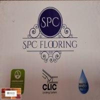 פרקט פולימרי SPC FLOORING עמיד במים דגם 8812