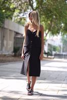 שמלת ג'ולי שחור