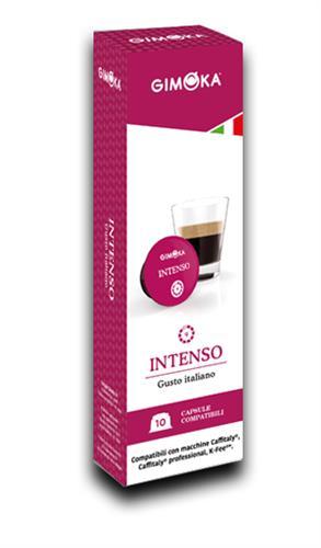 10 קפסולות תואמת Caffiataly ג'ימוקה אינטנסו Gimoka Intenso