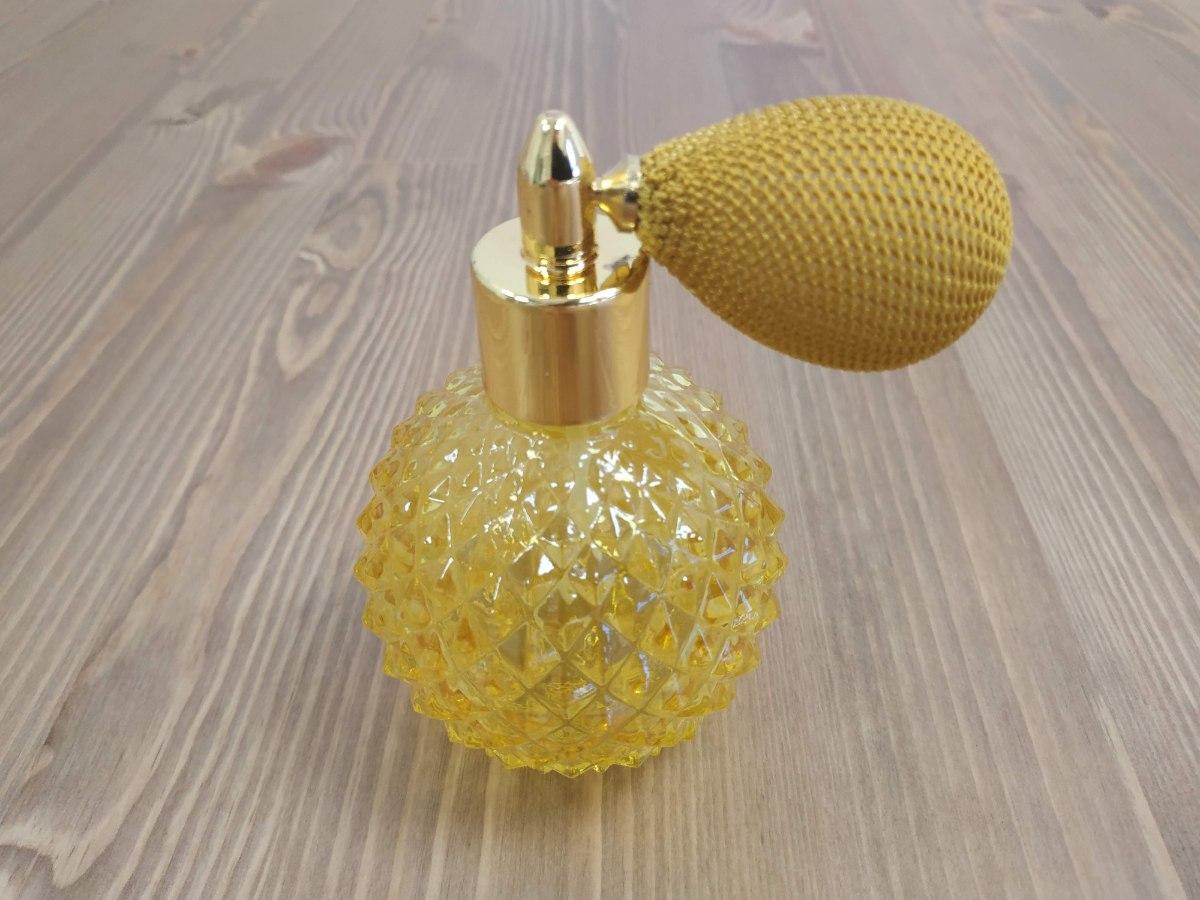 בקבוק בושם מהודר בסגנון וינטג' - גוון GOLD - אזל המלאי!