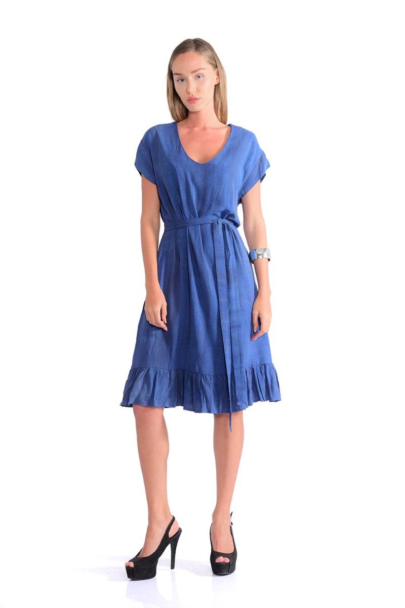 שמלה סאמי כחול