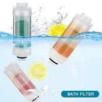 פילטר מים ויטמין C למקלחת בריחות משתנים - הופכים כל מקלחת לספא