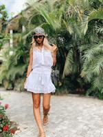 חצאית וויקנד לבנה