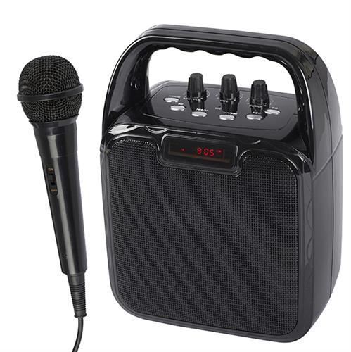 רמקול קריוקי Bluetooth כולל מיקרופון