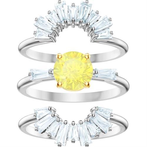 טבעת SWAROVSKI קולקציית SUNSHINE במידה 52