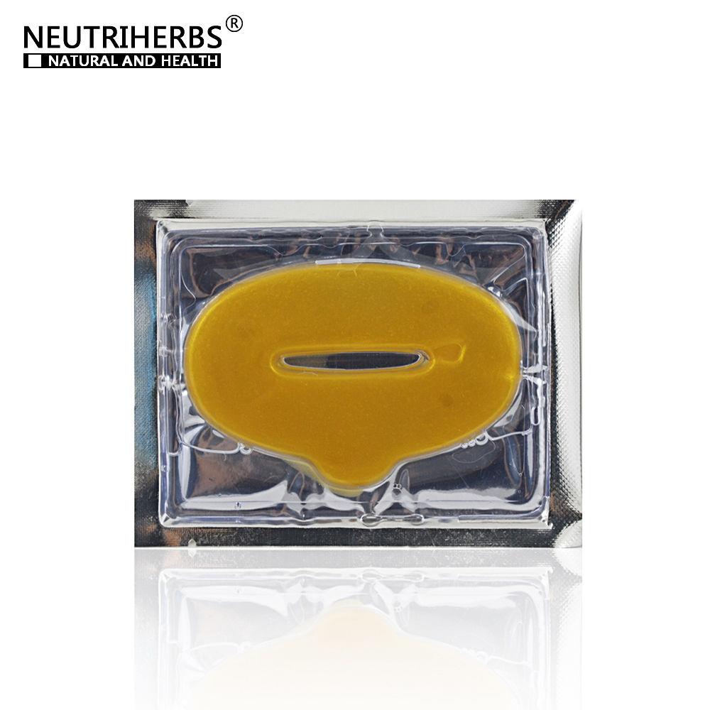 מסכת הזהב שפתיים - חומצה היאלורונית - 10 יח'