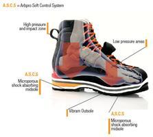 נעלי טיפוס Arbpro evo 2  צבע אדום שחור