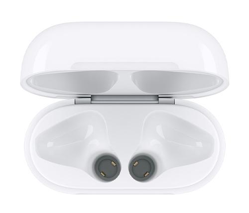 כיסוי לאוזניות Apple Airpods התומך בטעינה אלחוטית