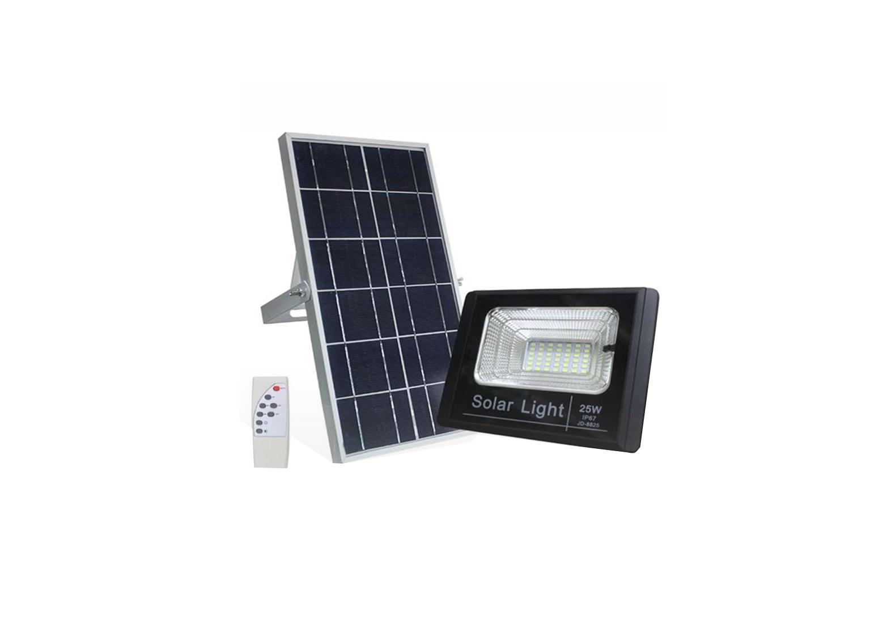 זרקור לד סולארי JD-8825L   25W