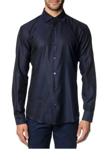 חולצה Salvatore Ferragamo לגברים NAVYBLUE