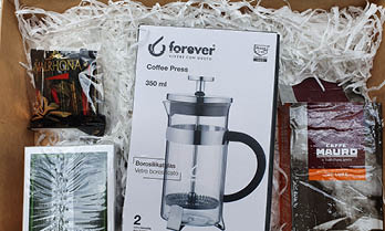 ערכת הכנה של קפה ותה