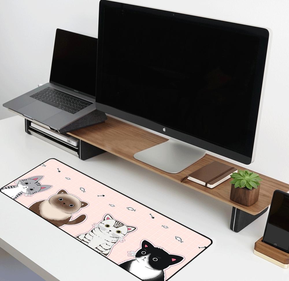 משטח גיימינג לעכבר ומקלדת | משטחי עכבר | משטח לעכבר מחשב
