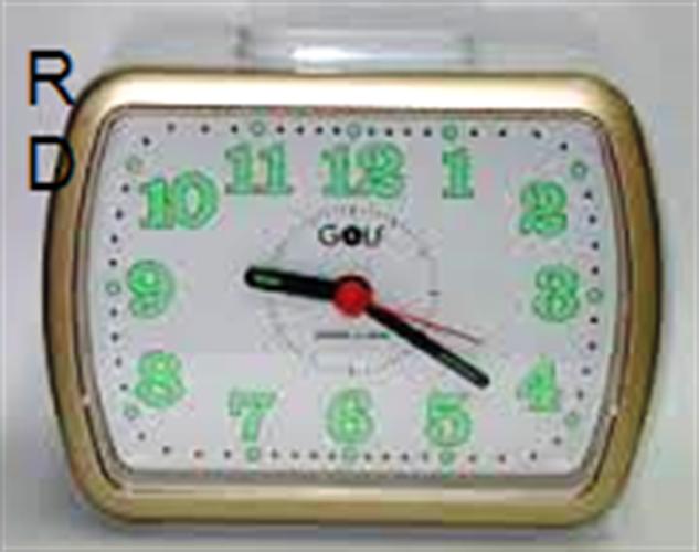שעון מעורר צלצול פעמון גולף GOLF