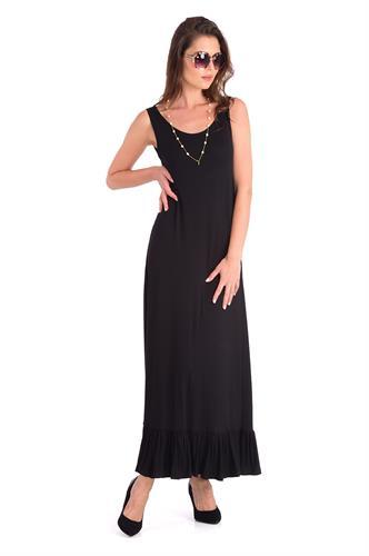 שמלה ימית שחורה