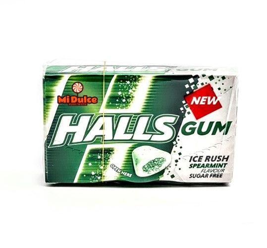 Halls Gum בטעם מנטה עדינה