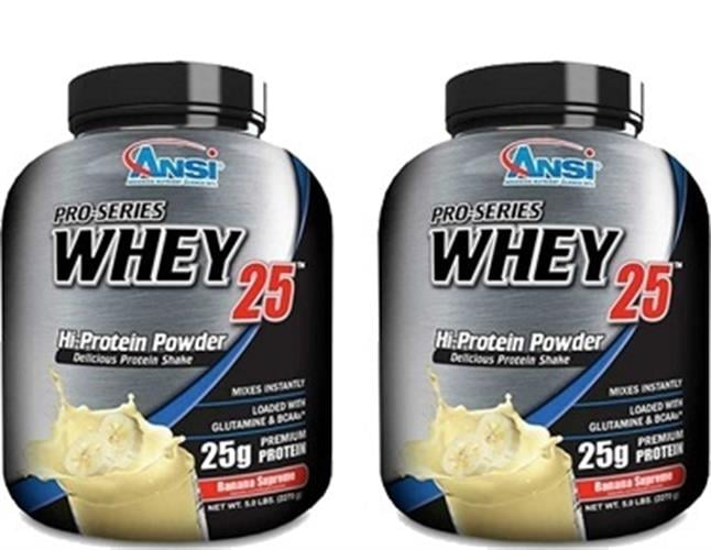 """אבקת חלבון אולטרה וואי 2.27 ק""""ג Ultra Whey 25 ANSI זוג במבצע - אנסי"""