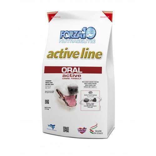 """מזון רפואי לכלבים פורזה אקטיב ORAL מ 4 ק""""ג"""