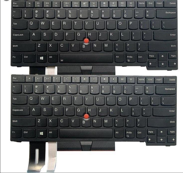 החלפת מקלדת למחשב לנובו Lenovo Thinkpad E480 E485 T480S L480 L380 T490 E490 L390 E495