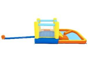 מתקן קפיצה מתנפח טרמפולינה מתנפחת + בריכת מיים בסטוואיי BESTWAY 53381 - קפיץ קפוץ